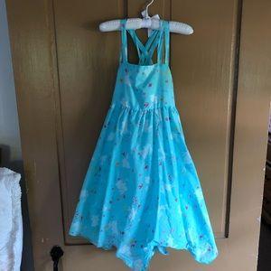 Little girl bunny summer dress.